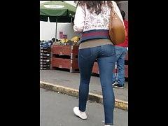 Asiática Teen Bounce Butt