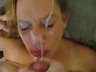 Pov Blonde Facial video: Hooker Blow + Facial