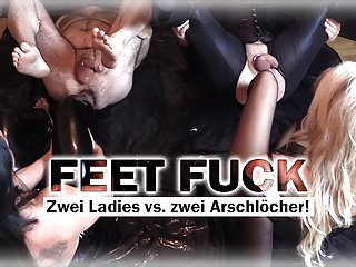German Bdsm Femdom video: FEET DEEP IN ASS! - by Lady Cherie Noir