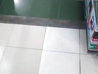 Candid Mature Filipina Shopping Mall