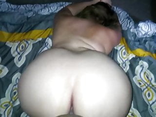 Pov Blonde Big Ass video: Doggin' it out