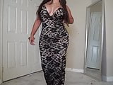 Lace Dress Try On  MISSSPERU