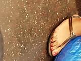 Big Long ebony feet