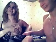 Russian Alice with Alex play on webcam