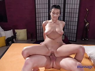 Blowjob Big Cock Brunette video: Massage Rooms Romanian beauty Nelly Kent licked fucked