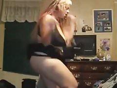 fettes Mädchen heiß tanzen