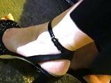 Candid high heels sandals #3