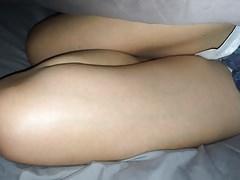 Více Jizz pro její sexy koleno