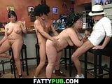 Huge boobs bbw group orgy