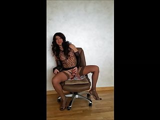 Amateur Shemale Masturbation Shemale Lingerie Shemale video: Cute Cross is Jerking And Cuming