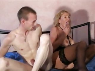 Amateur Big Cock Big Tits video: Cogar MILF Loves Huge Creampie By Her New Young Neighbor