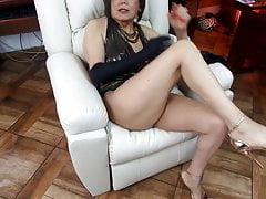 Sekretärin süchtig nach Analsex Cheats an ihrem Mann