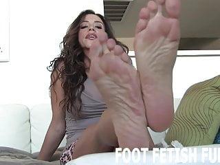 Bdsm Femdom Pov video: It feels so good when you cum on my feet