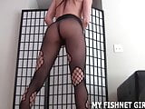 My skin tight fishnets make me feel so hot JOI