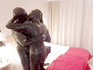 Latex Kissing Orgasm video: anondesire rubber kissing & fucking