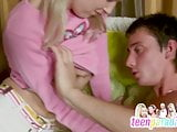 Deluxe skinny teen trouble fuck with close holes 61