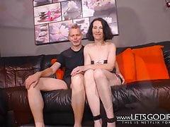 Niemieckie prawdziwe pary przed kamerą