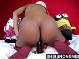 HD My Pussy Dildo Fuck Big Ass Riding Cowgirl Big Tits POV