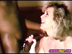 Cuckolf MILF riding BBC Husband sissy cleans up after bull