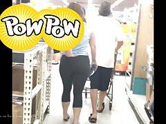 Round Butt Pawg v Spandexu (vychystávání)