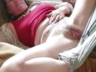 Fingering Milf American video: My mom pussy exposed jack off and nut on her hairy pussy