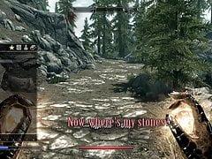 Niegrzeczna gra Skyrim część 1