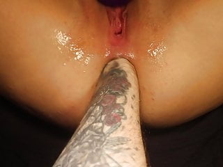 Hard Anal Fisting - Squirt, Rose, Gape