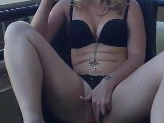 Softcore Blonde Girl Masturbating video: What is better, Champagne or pussy?