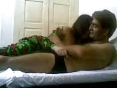 Very Cute Paki Couple Have Awesome Homemade Sex