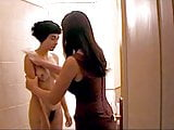 Giada Colagrande and Natalie Cristiani lesbian sex scenes