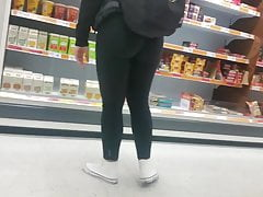 Lindo pawg negro spandex