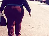 bbw pawg brown pants