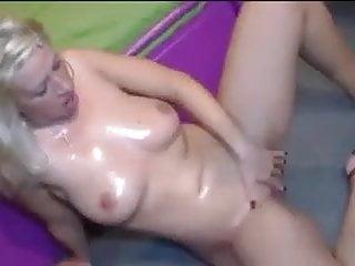 Gangbang Blonde Pornstar video: Manu Magnum Gangbang