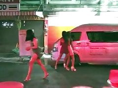Streetwalking Trannies Working In Pattaya