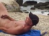 Beach - cum in mounth