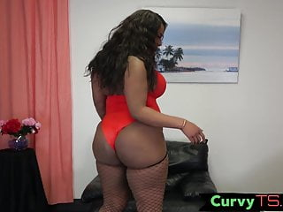 Hd Videos Big Ass Shemale video: Bootylicious trans chick spreads her legs