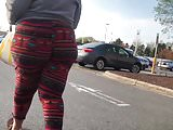 Jiggly ass bbw walking O.T.D