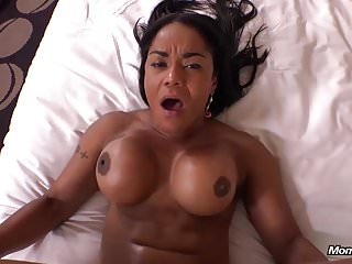 Amateur Facials Pov video: Deep Anal Fuck Sexy Thick Latina Cougar POV