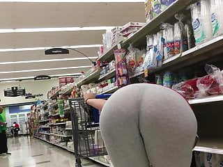 Pregnant Thick PAWG See Through Leggings