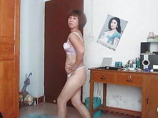 中国老太太跳舞