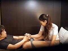 Japanische Hotelmassage ist schiefgegangen Untertitelt in HD