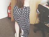 Girl twerking at home