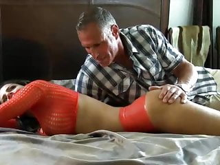 .stepdad is pervert and fetish abuse.
