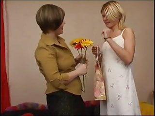 Lesbian video: Russian Mature Ophelia & Paulina 02