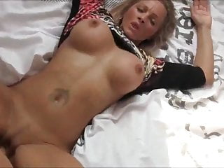 Pov Blowjob Big Cock video: Fantastic & Busty MILF Receives Messy Creampie On New Bed