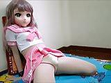pink sailor kigurumi vibrating