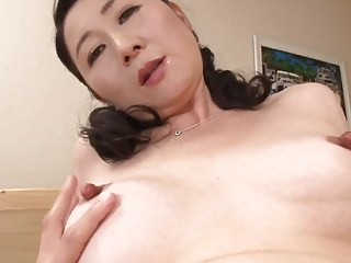 Japanese Wife Creampie video: Mature Milfs
