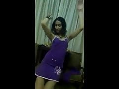 Arab Teen Dance in Blue