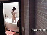 Spy voyeur cam in the bathroom