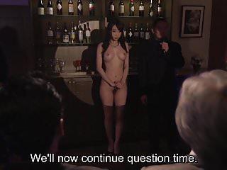 字幕日本Kurea Hasumi妻子奴隸拍賣剝離